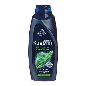 Шампунь Shamtu Men «Густота и свежесть», с экстрактом мяты, 650 мл