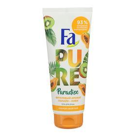 Гель для душа Fa Pure Paradise, папайя и киви, 200 мл