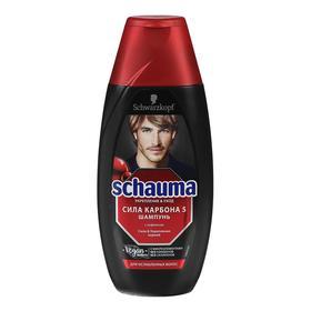 Шампунь Schauma «Сила карбона 5», с кофеином, 225 мл