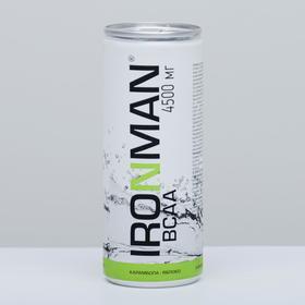 Напиток безалкогольный IRONMAN BCAA 4500 мг, карамбола-яблоко, 250 мл