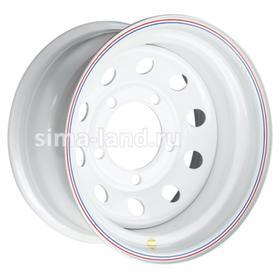 Диск штампованный Land Rover 8x16 5x165.1 ET-24 d125 White Ош