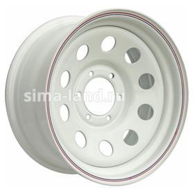 Диск штампованный Nissan/Toyota 8x16 6x139.7 ET10 d110 White Ош
