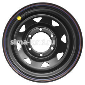 Диск штампованный Nissan/Toyota 8x15 6x139.7 ET-5 d110 Black Ош