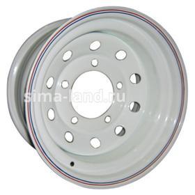 Диск штампованный УАЗ 7x15 5x139.7 ET-3 d110 White Ош