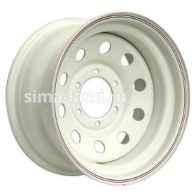 Диск штампованный Nissan/Toyota 8x15 6x139.7 ET-19 d110 White Ош