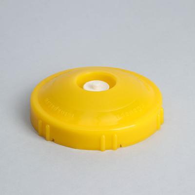 Крышка вакуумная, резьбовая КВК-82Р, цвет жёлтый - Фото 1