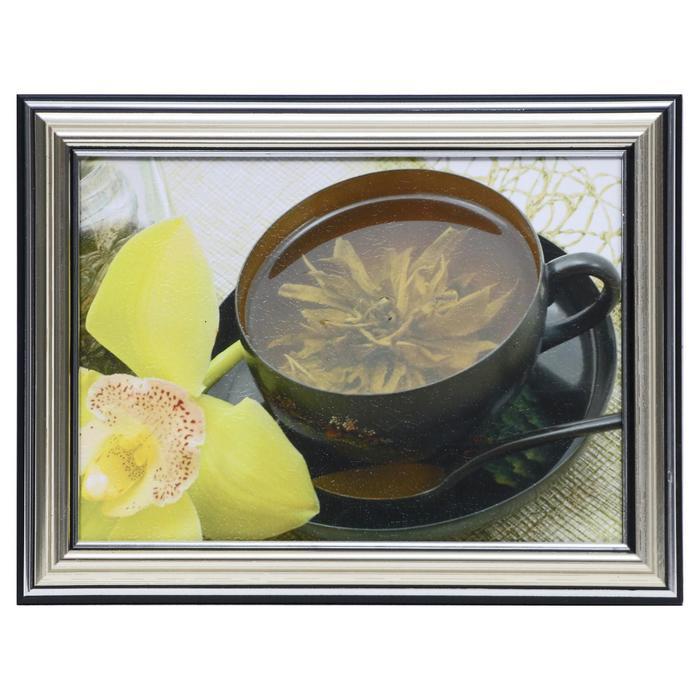 Картина Чайный цветок 13х1816х21 см