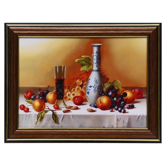 Картина Натюрморт с вином 13х1816х21 см