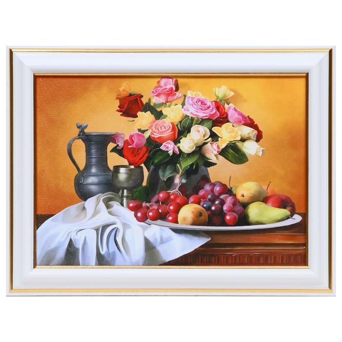 Картина Натюрморт с цветами 13х1816х21 см