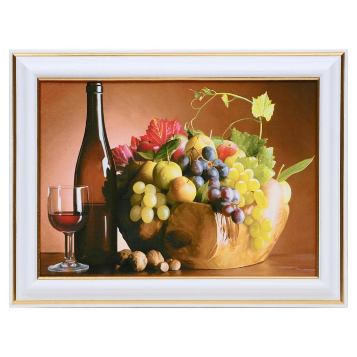 Картина Натюрморт винный 13х1816х21 см
