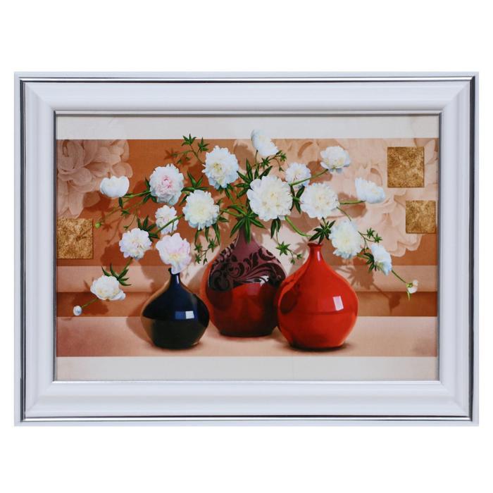 Картина Георгины в вазах 13х1816х21 см