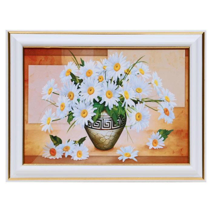 Картина Ромашки в вазе 13х1816х21 см
