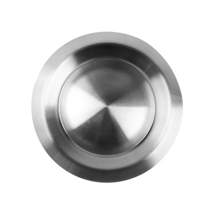 Анемостат VENTS АМ 100 ВРФ Н d=100 мм, с фланцем, хром
