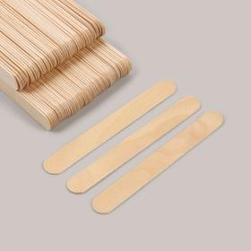Шпатель для депиляции, деревянный, 14 × 1,8 см Ош