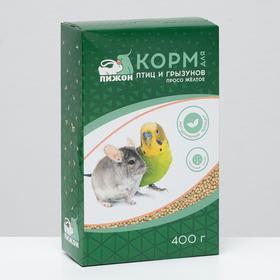 Корм 'Пижон' просо жёлтое, для птиц и грызунов, 400 г Ош