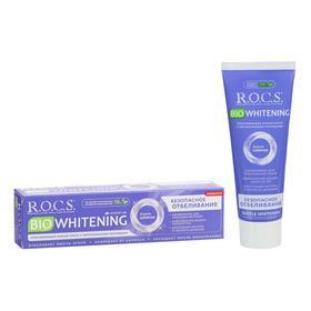 """Зубная паста ROCS BIOWHITENING Безопасное отбеливание"""", 94 г"""