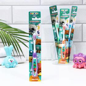 Зубная щётка детская Bambolina МиМиМишки мягкая, 3-5 лет Ош