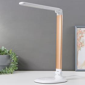Настольная лампа DE525, 6Вт LED 3000-6400К, цвет золото