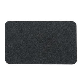Коврик Soft 40x60 см, цвет чёрный Ош