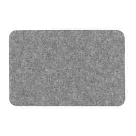 Коврик Soft 50х80 см, цвет серый
