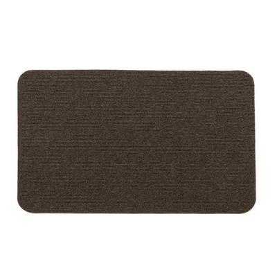 Коврик Soft 50х80 см, цвет коричневый