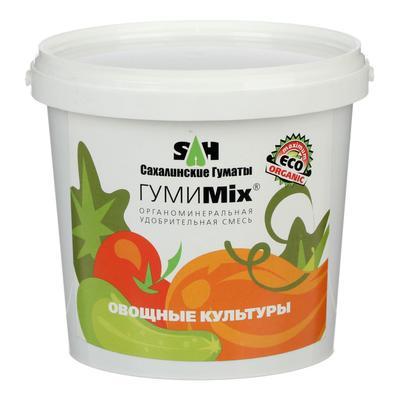 Удобрение гуминовое ГумиMix гранулы для овощных культур, 0,9 кг - Фото 1