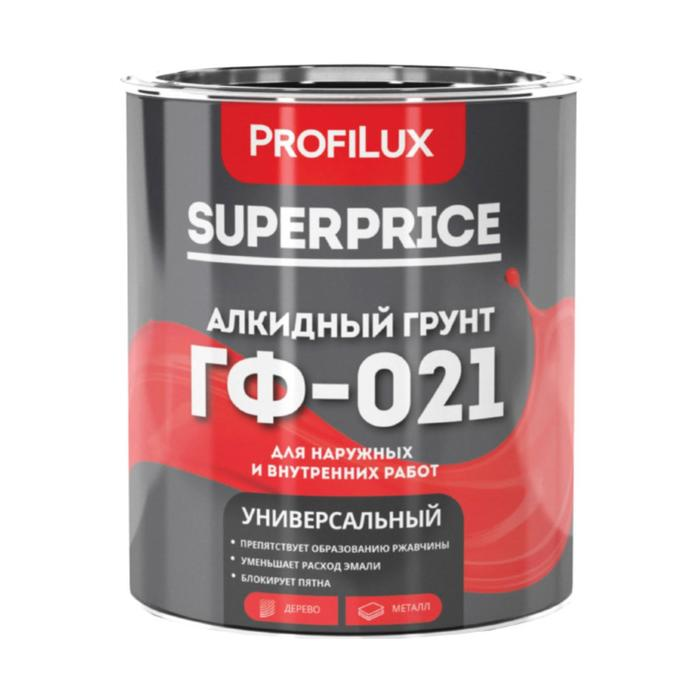 Profilux SUPERPRICE Грунт ГФ-021 красно-коричневый 1,9кг