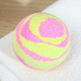 """Бомбочка для ванн Bomb Master """" Бурлящие планеты"""", 130 гр. розовый"""