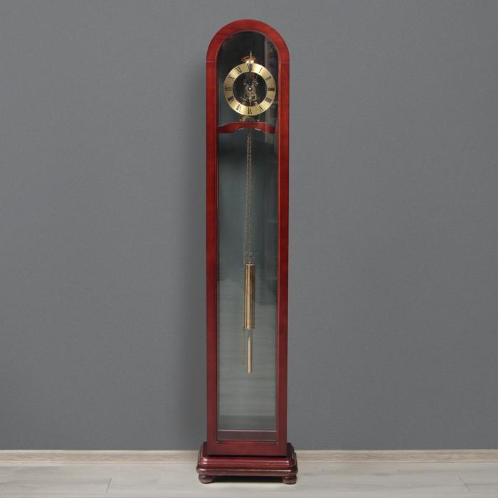 Часы напольные с боем, завод на 7 дней, 23х38х166 см