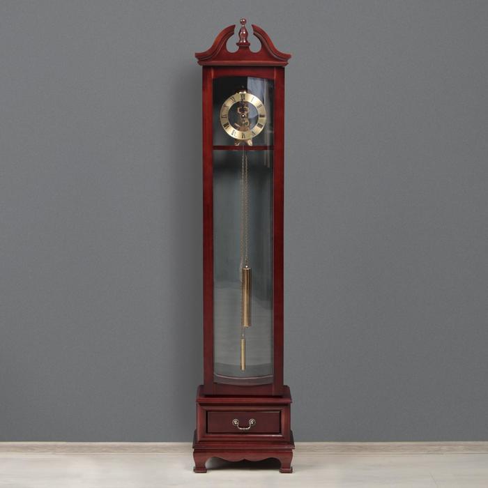 Часы напольные с боем, завод на 7 дней, 23х40х180 см