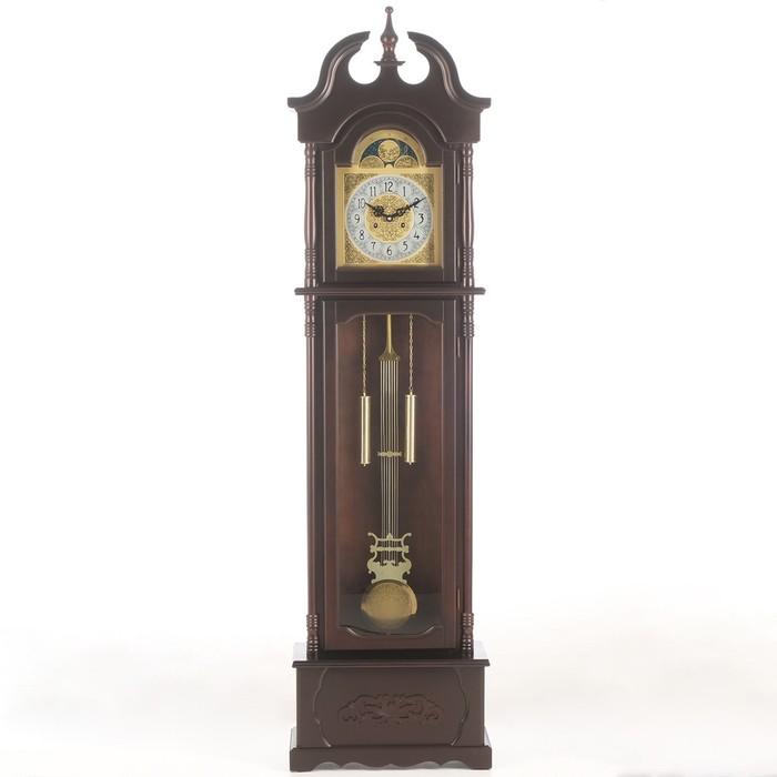 Часы напольные с боем, завод на 15 дней, 26х54х202 см