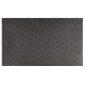 Коврик грязезащитный сетчатый, 35х60 см, цвет чёрный