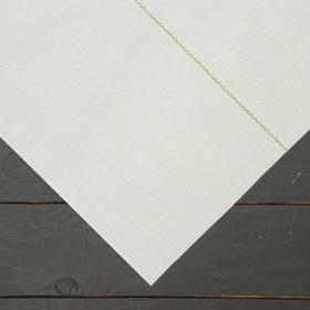 Агроткань застилочная, с разметкой, 5 × 1,05 м, плотность 100 г/м², полипропилен, белая, колышки - 10 шт., Nacsan Ош
