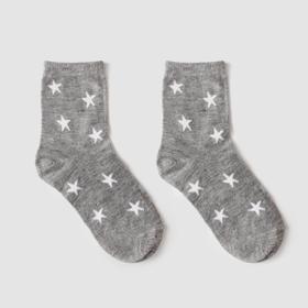 Носки детские Ft-641-M-12 цвет серый, р-р 18-20 Ош