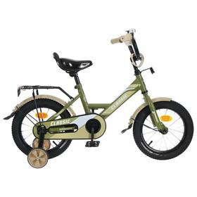 Велосипед 14' Graffiti Classic, цвет хаки Ош