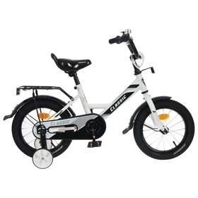Велосипед 14' Graffiti Classic, цвет белый/черный Ош
