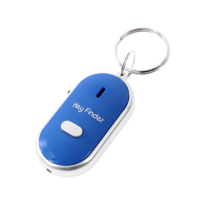 Брелок для поиска ключей LK-09, издает звуковой сигнал, реагирует на свист, МИКС