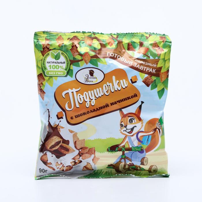 Подушечки с шоколадной начинкой, 90 г