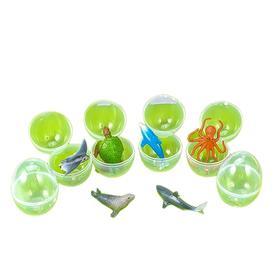 Набор животных в яйцах «Морские обитатели», МИКС, в пакете Ош