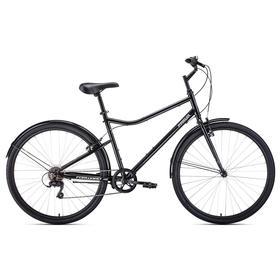 """Велосипед 28"""" Forward Parma 2021, цвет черный/белый, размер 19"""""""