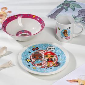 Набор посуды ND PLAY L.O.L. Surprise, 3 предмета