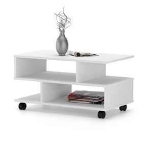 Стол журнальный «СЖ 6», 800 × 446 × 420 мм, цвет белый