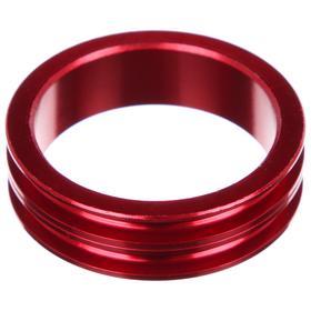 Кольцо проставочное 1-1/8'х10мм SPACER-R, алюминий, цвет красный Ош