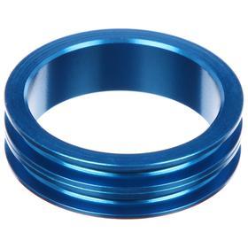 Кольцо проставочное 1-1/8'х10мм SPACER-R, алюминий, цвет синий Ош