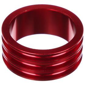 Кольцо проставочное 1-1/8'х15мм SPACER-R, алюминий, цвет красный Ош