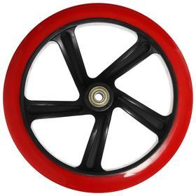 Колесо для самоката, ПУ, D:200x30мм, с подшипником ABEC-7 Ош