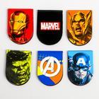 """Открытка с магнитными закладками  """"Супергерои"""", Мстители, 6 шт. - Фото 3"""
