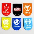 """Открытка с магнитными закладками  """"Супергерои"""", Мстители, 6 шт. - Фото 4"""