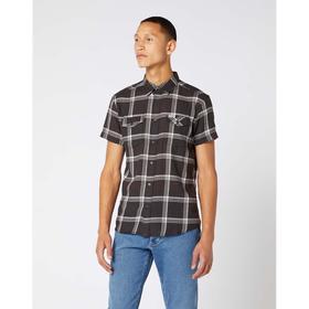 Рубашка Wrangler SS 2 PKT FLAP SHIRT FADED, размер 44-46 (W5J5ORXV6) Ош