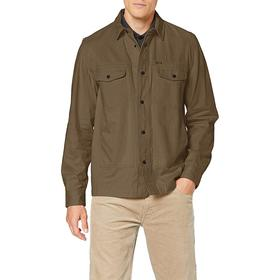 Рубашка Lee MILITARY WORKER SHIR OLIVE GREEN, размер 44-46 (L66CTHNX) Ош